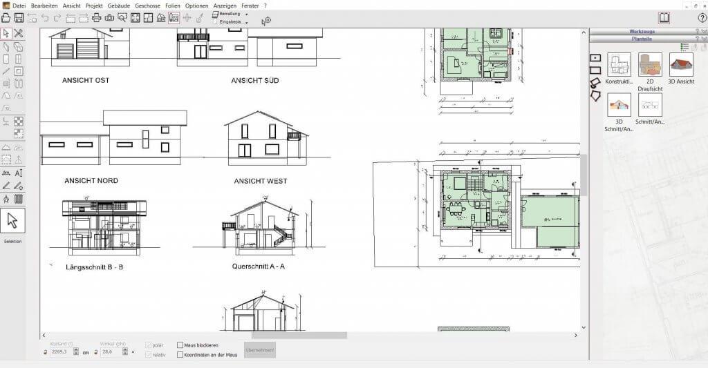 2D Schnitte erstellen und visualisieren