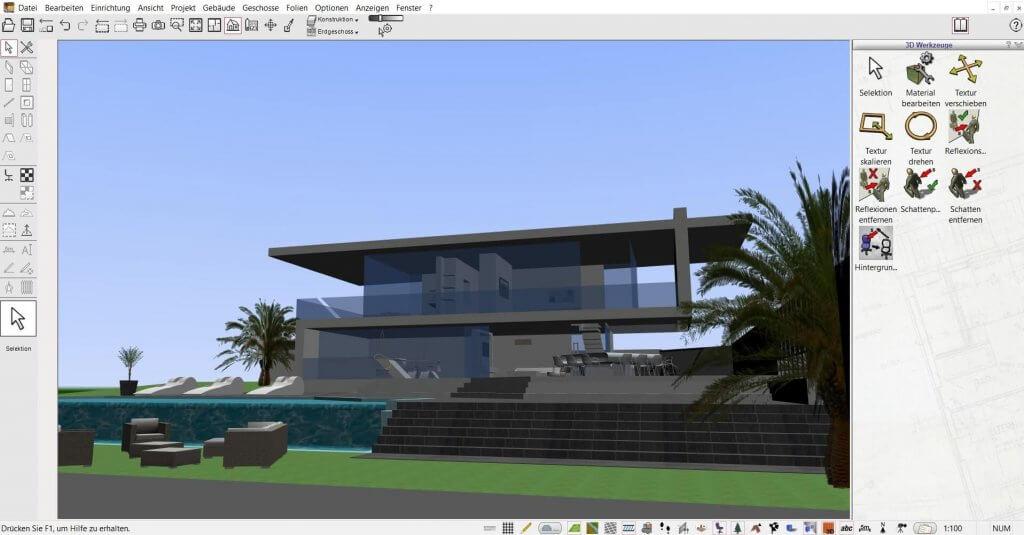 Architektur Visualisierung von Großprojekten