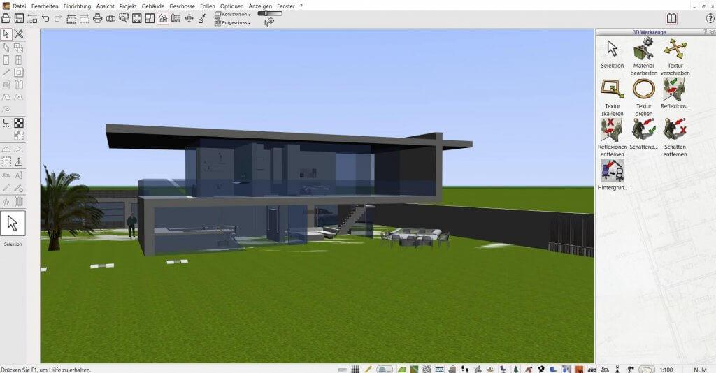 Bauvorhaben mit der Hausplanungssoftware