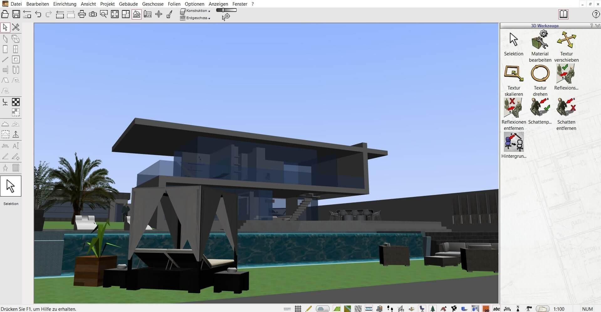 Wohnung selber planen mit Wohnungsplaner Software / Programm