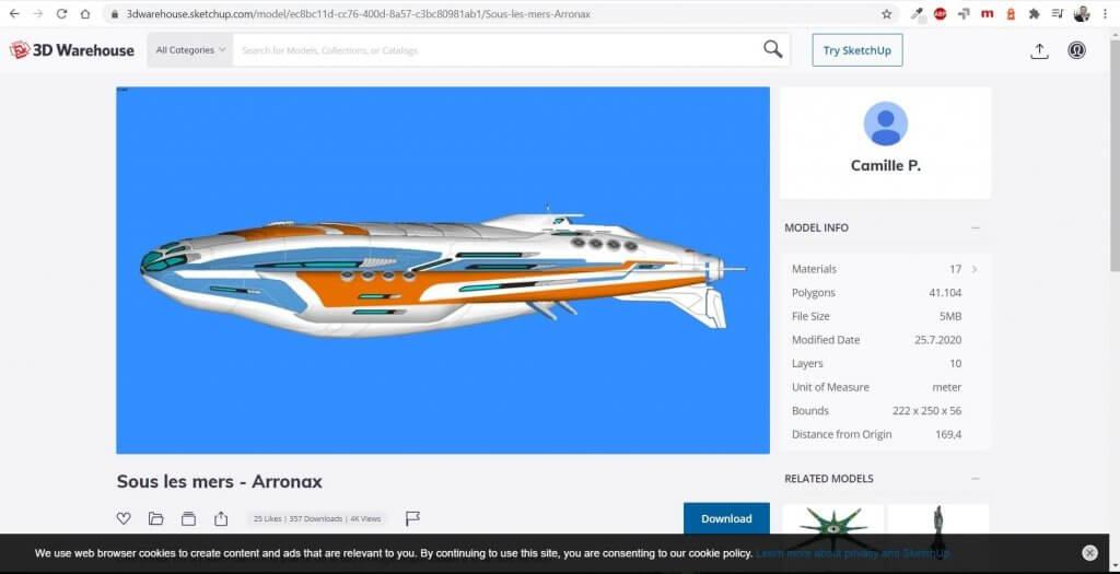 Millionen 3D Objekte in der Wohnungsplaner Software