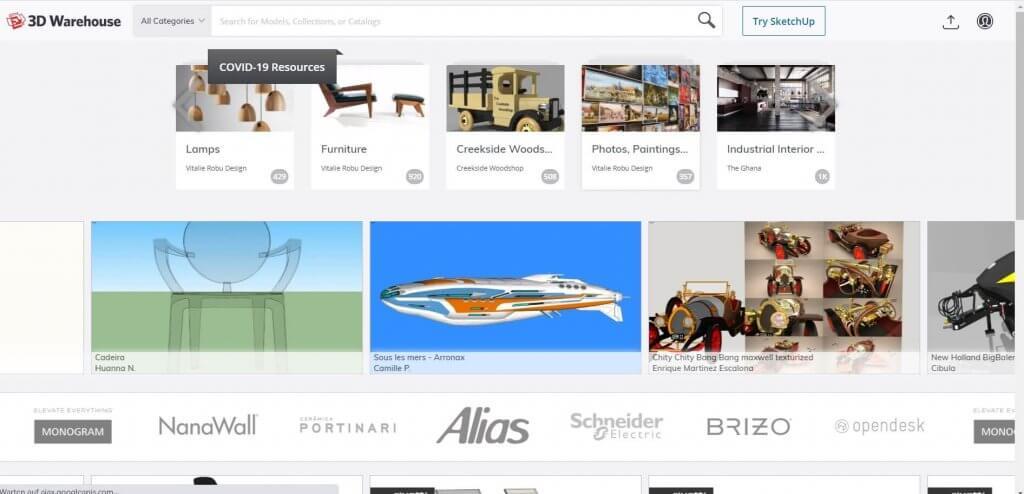 Millionnen 3D Objekte in der Hausplanungssoftware