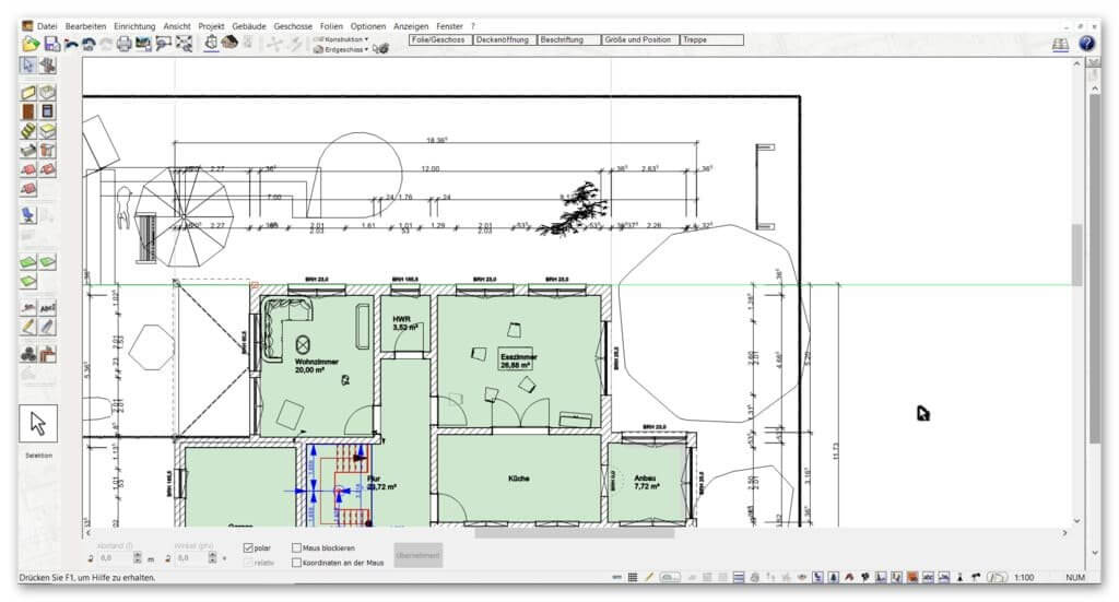 Automatische-Außenmaße-im-Zeichenprogramm-für-Grundrisse