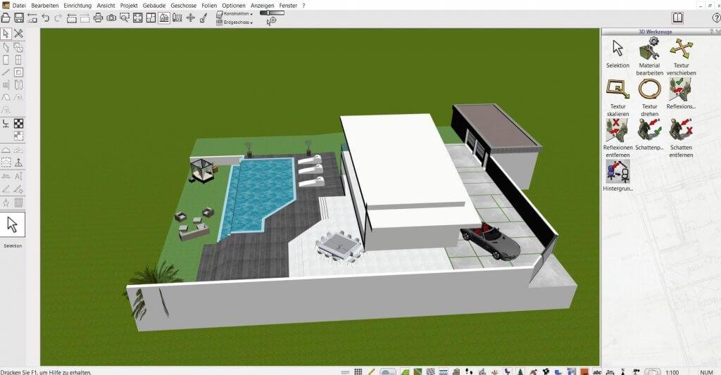 Große Bauvorhaben mit dem HausDesigner Programm