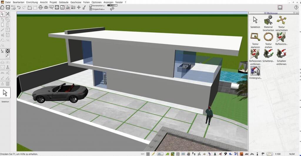 Große Projekte mit dem Architekturprogramm planen