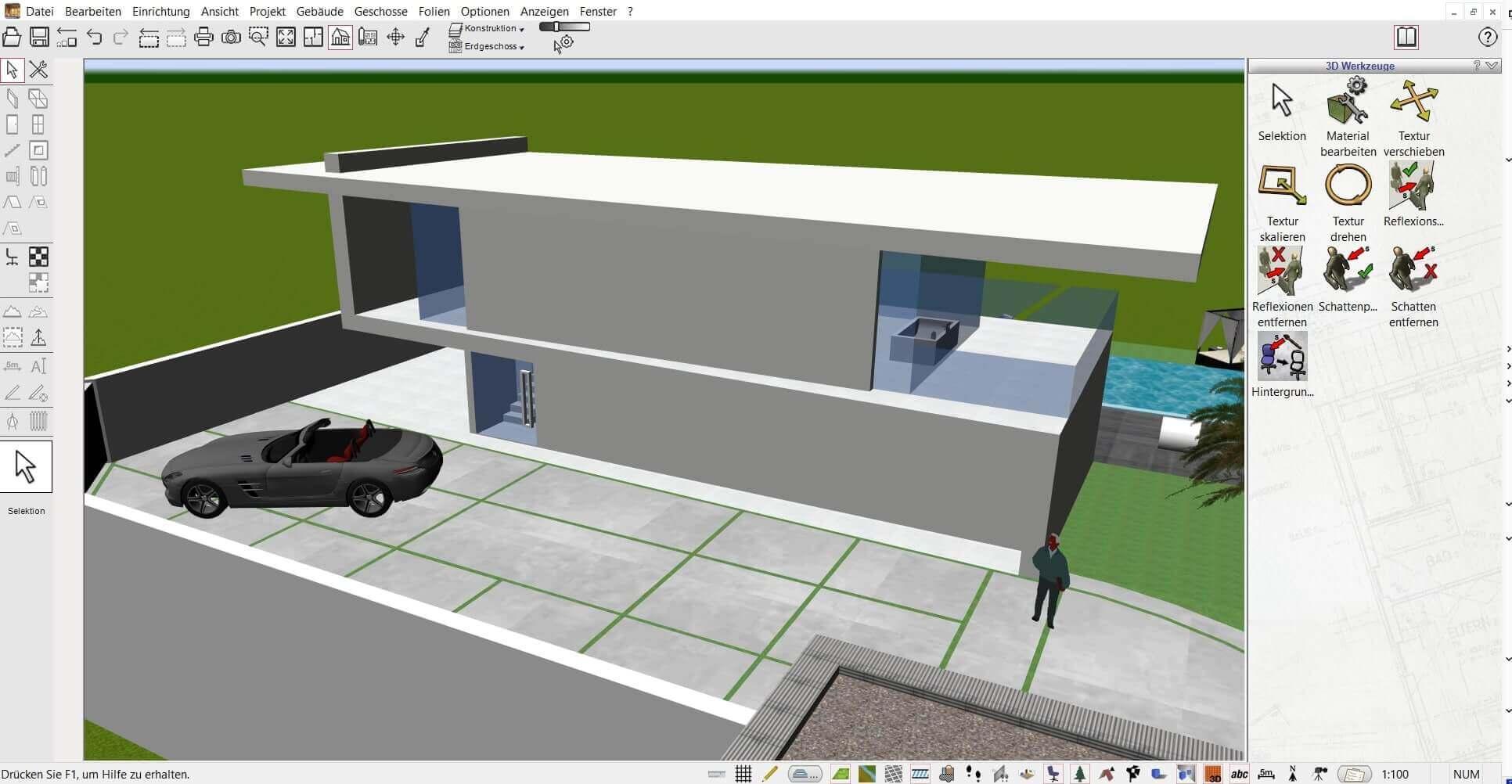 21D Architekturprogramm für private Bauherren