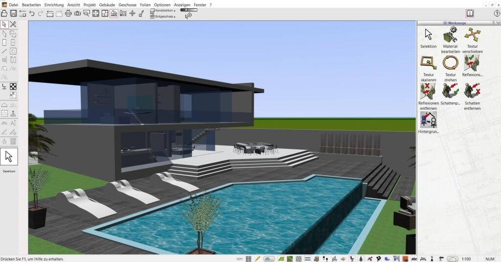 Große Projekte mit dem Planungsprogramm planen