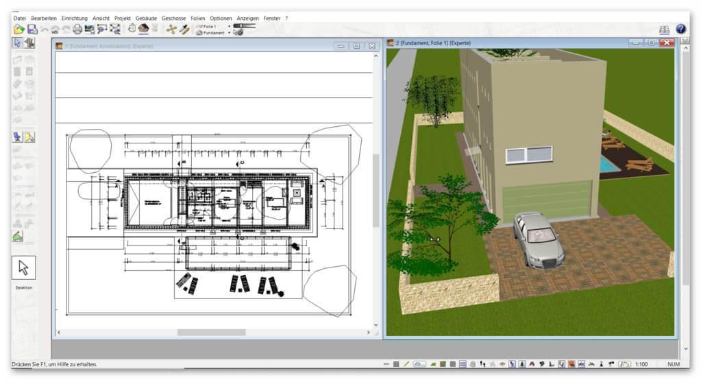 Holzhaus-Grundriss-in-3D-2D-planen