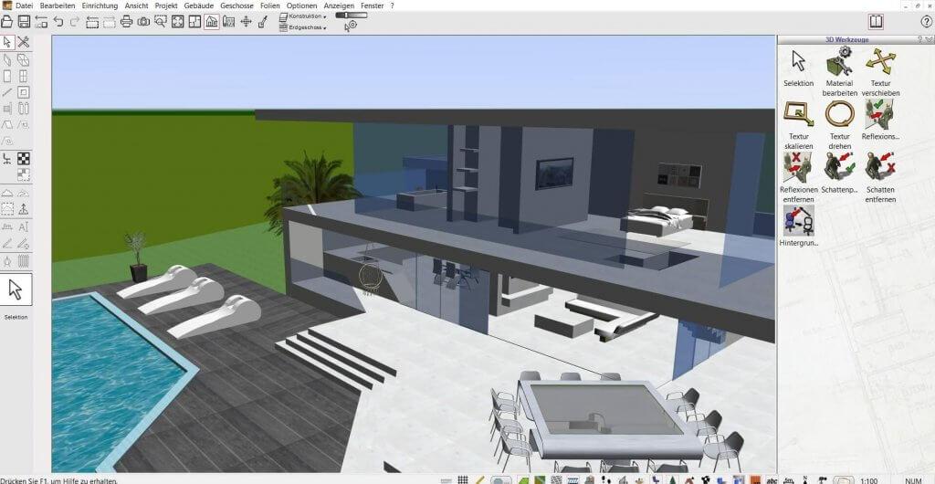Große Bauvorhaben mit der Gartenplaner Software