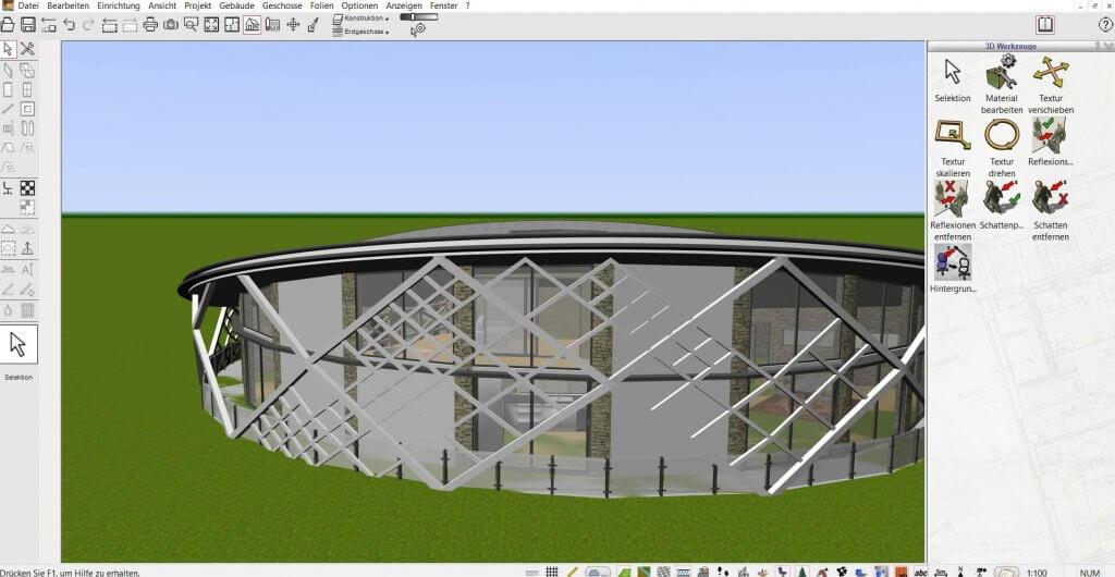 Große Projekte mit Dach planen