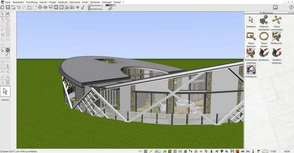 Große Projekte mit Geländer planen