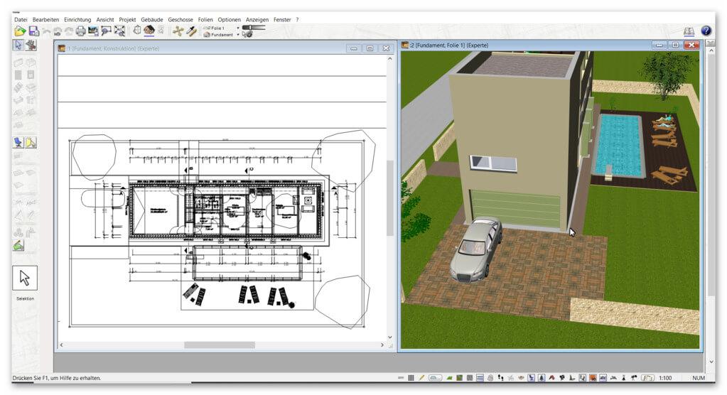 Haus-selb-planen-in-3D-2D