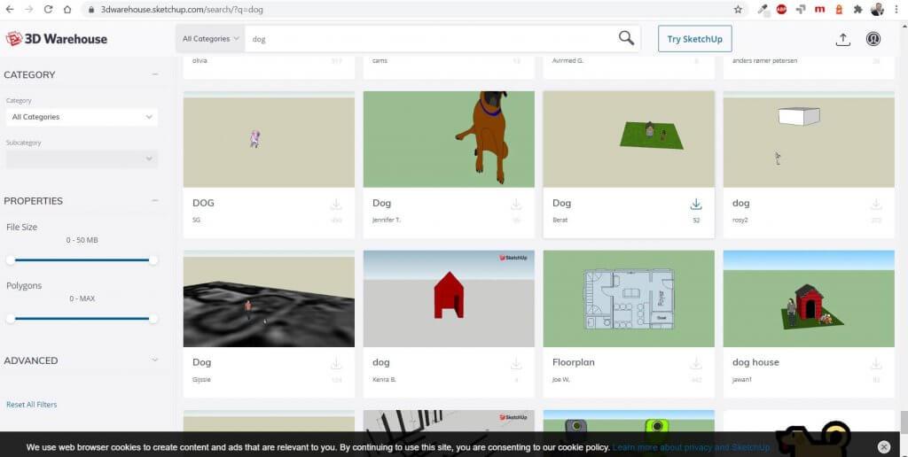 Millionen 3D Objekte für die Planung vom Fachwerkhaus