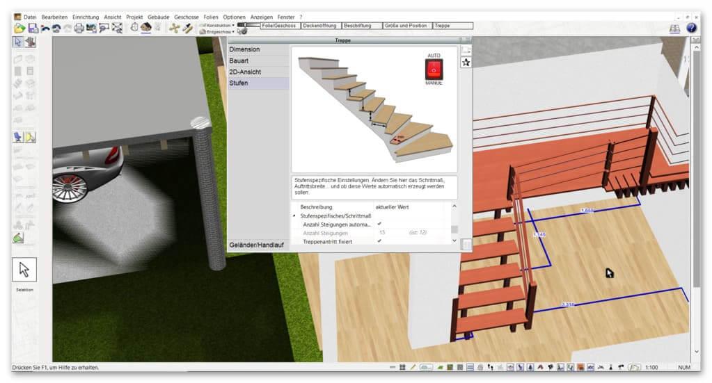 Treppe-zeichnen-mit-der-Alternative-für-Architekt-3D