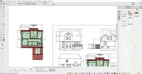 2D Schnitte für die Bauzeichnung erstellen