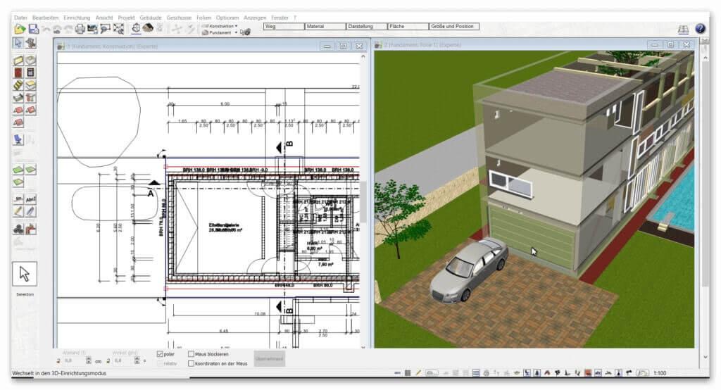 3d-CAD-Architektursoftware