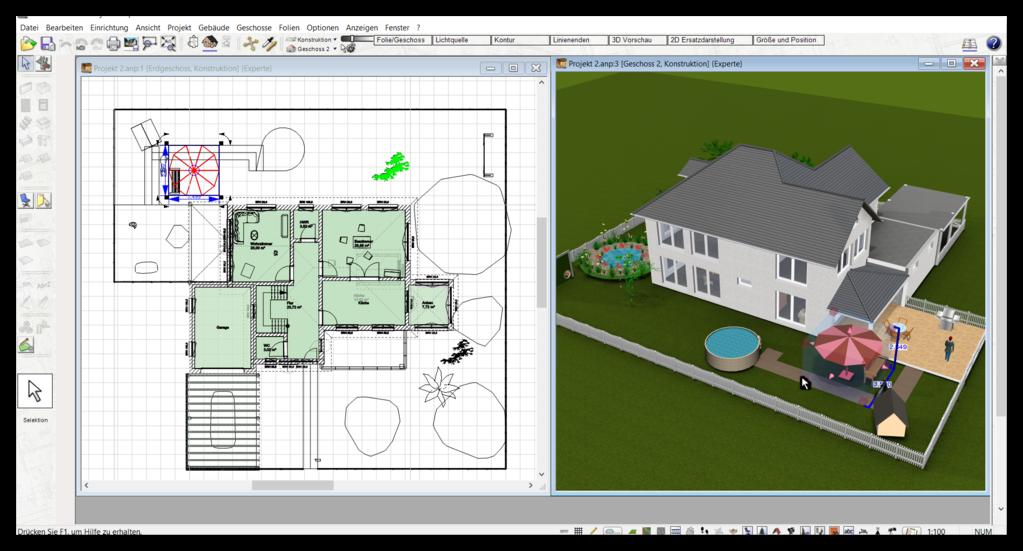 Badplaner Software in 3D & 2D