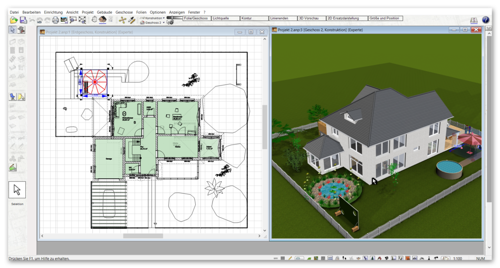 Alternative zu Architekt 3D & 2D
