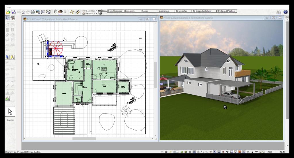 Data Becker Traumhausdesigner in 3D & 2D Alternative