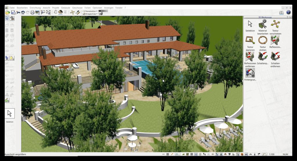 3D Visualisierung zum Bauen