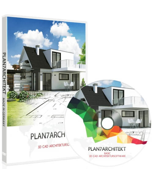 3d cad hausplaner architektur software programm plan7architekt. Black Bedroom Furniture Sets. Home Design Ideas