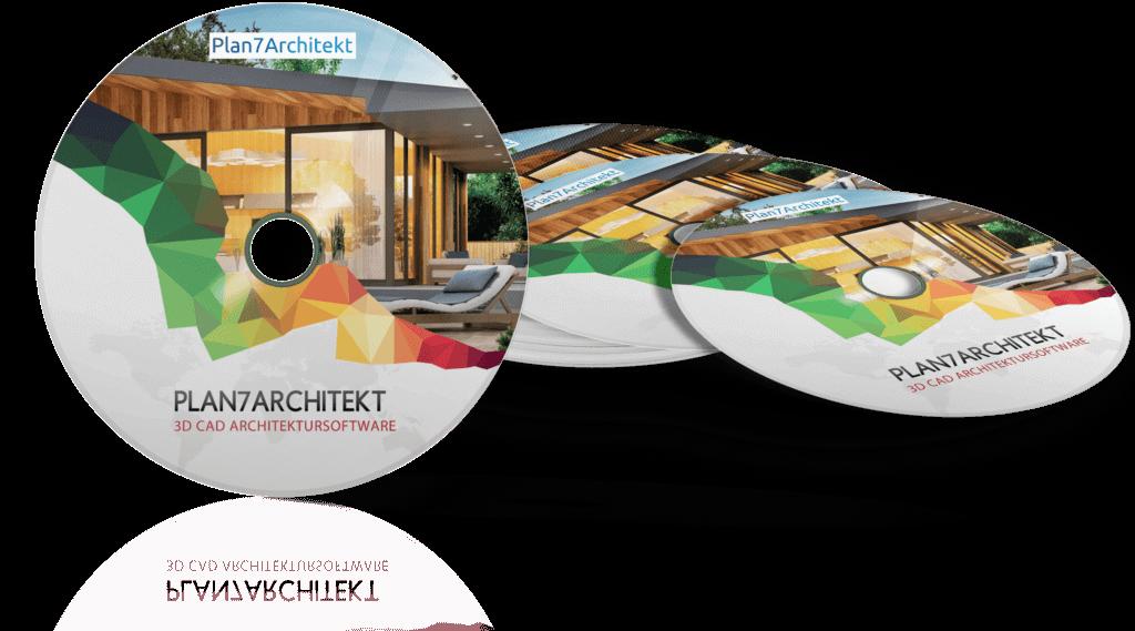 Plan7Architekt DVD CAD Programm 3D