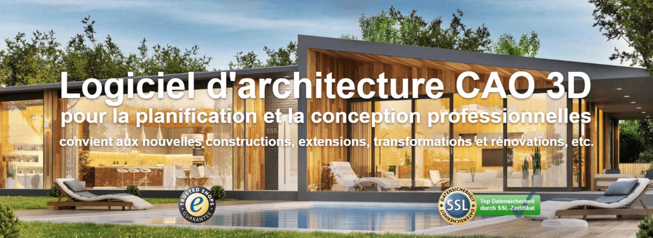 Logiciel d'architecture CAO 3D