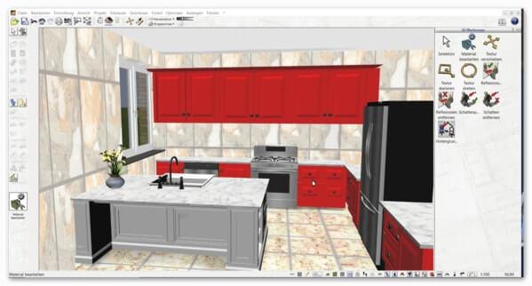 3d cad raumplaner software programm der plan7architekt - Raumplaner badezimmer ...