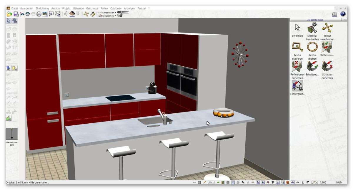 Kuche planen cad for Kuchenplaner ohne download