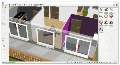 3d cad raumplaner software programm der plan7architekt for Raum planung software