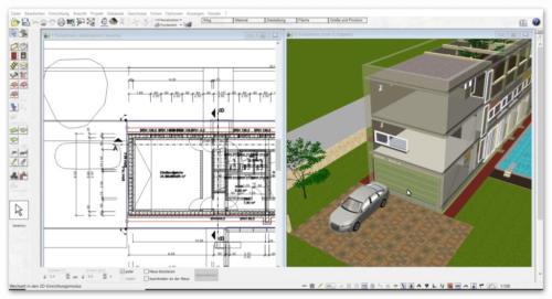 galerie mit video screenshots vom plan7architekt. Black Bedroom Furniture Sets. Home Design Ideas
