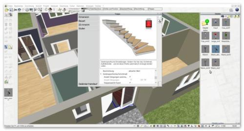 24 Treppe-zeichnen-mit-3D-CAD-Software